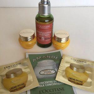 L'Occitane Lot Divine Cream & Shampoo